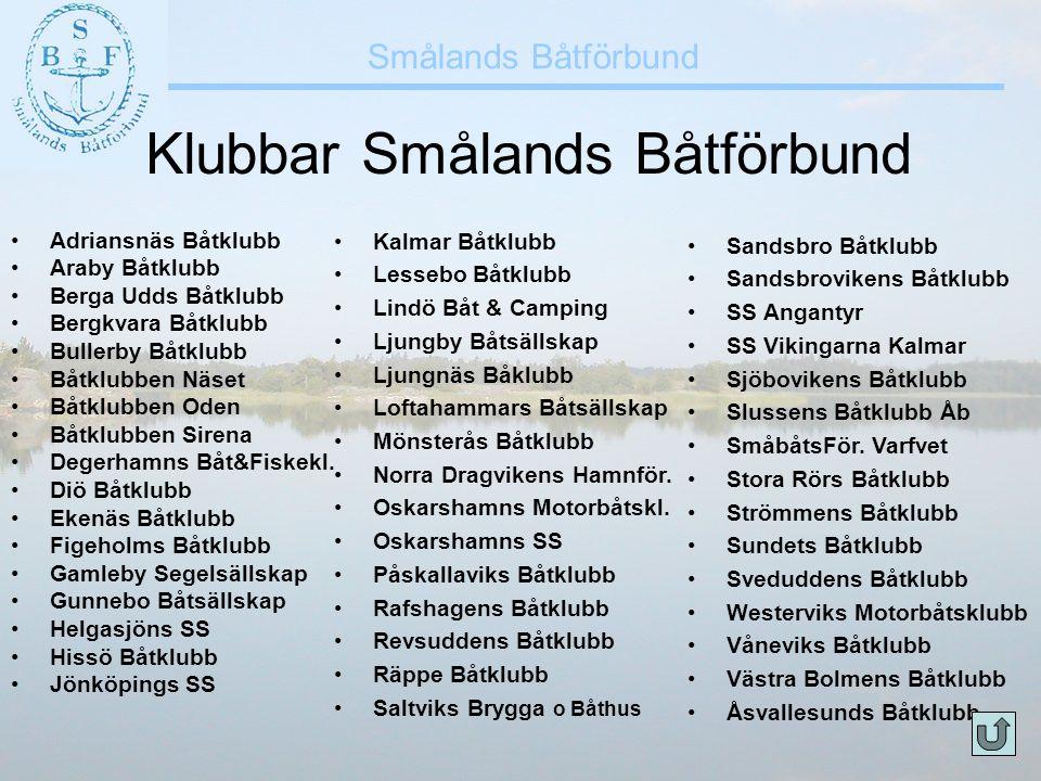 Klubbar Smålands Båtförbund