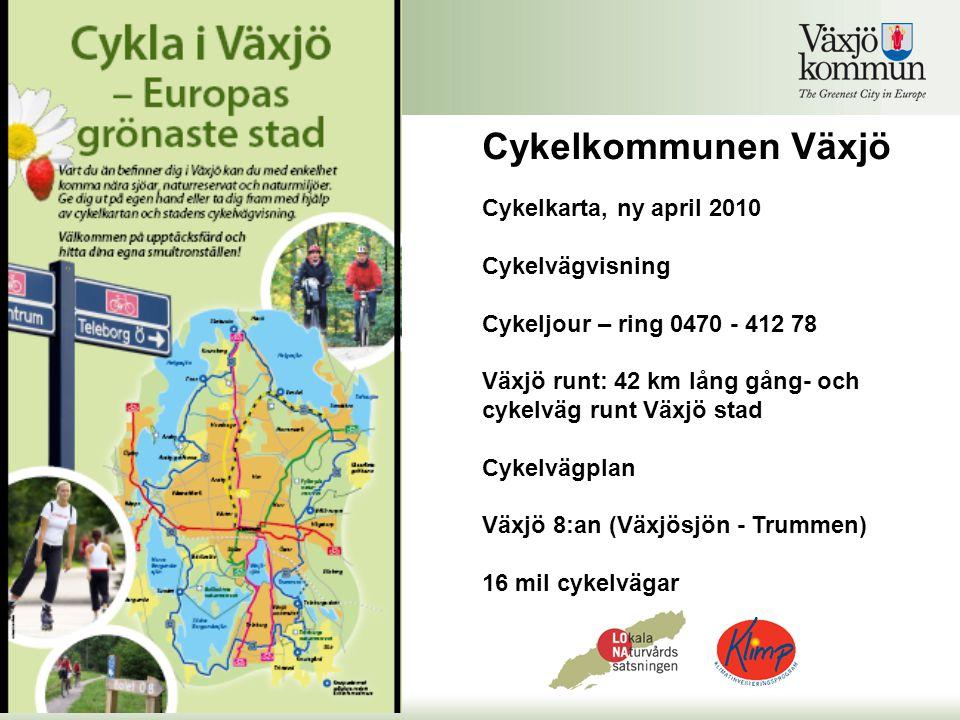 Cykelkommunen Växjö