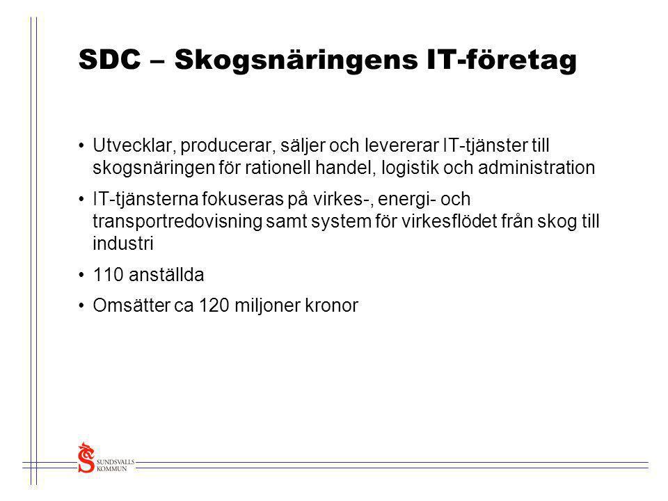 SDC – Skogsnäringens IT-företag