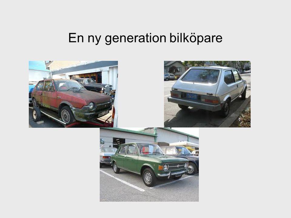 En ny generation bilköpare