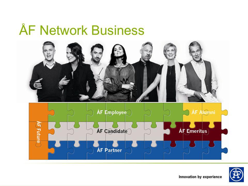 ÅF Network Business Vi har ett nätverk för alla, med passion för teknik, som vill jobba med kvalificerade tekniska konsultuppdrag.