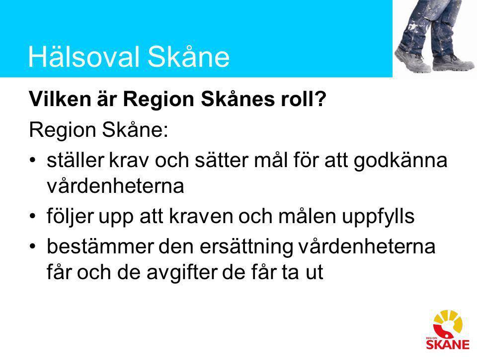 Vilken är Region Skånes roll