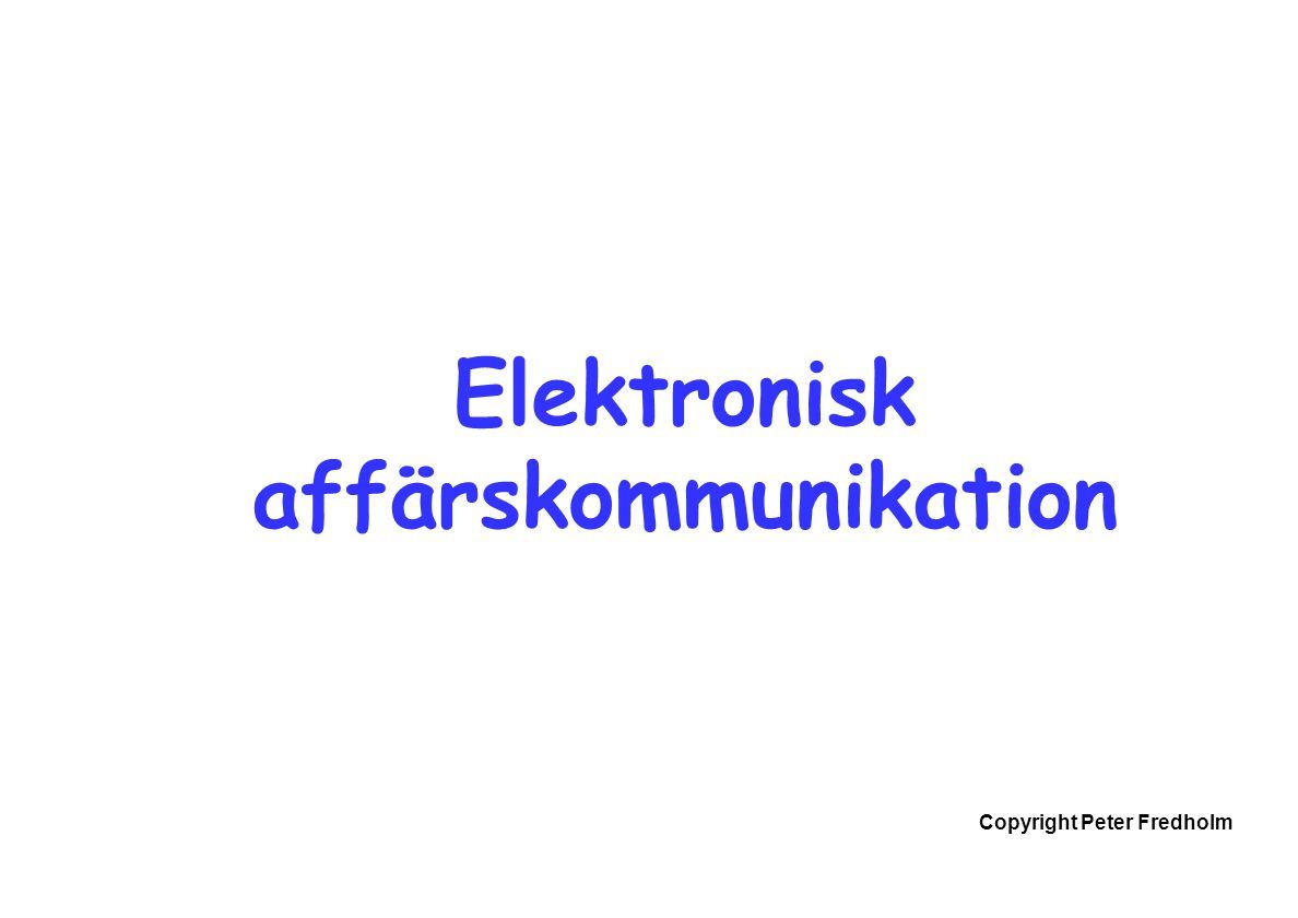 Elektronisk affärskommunikation