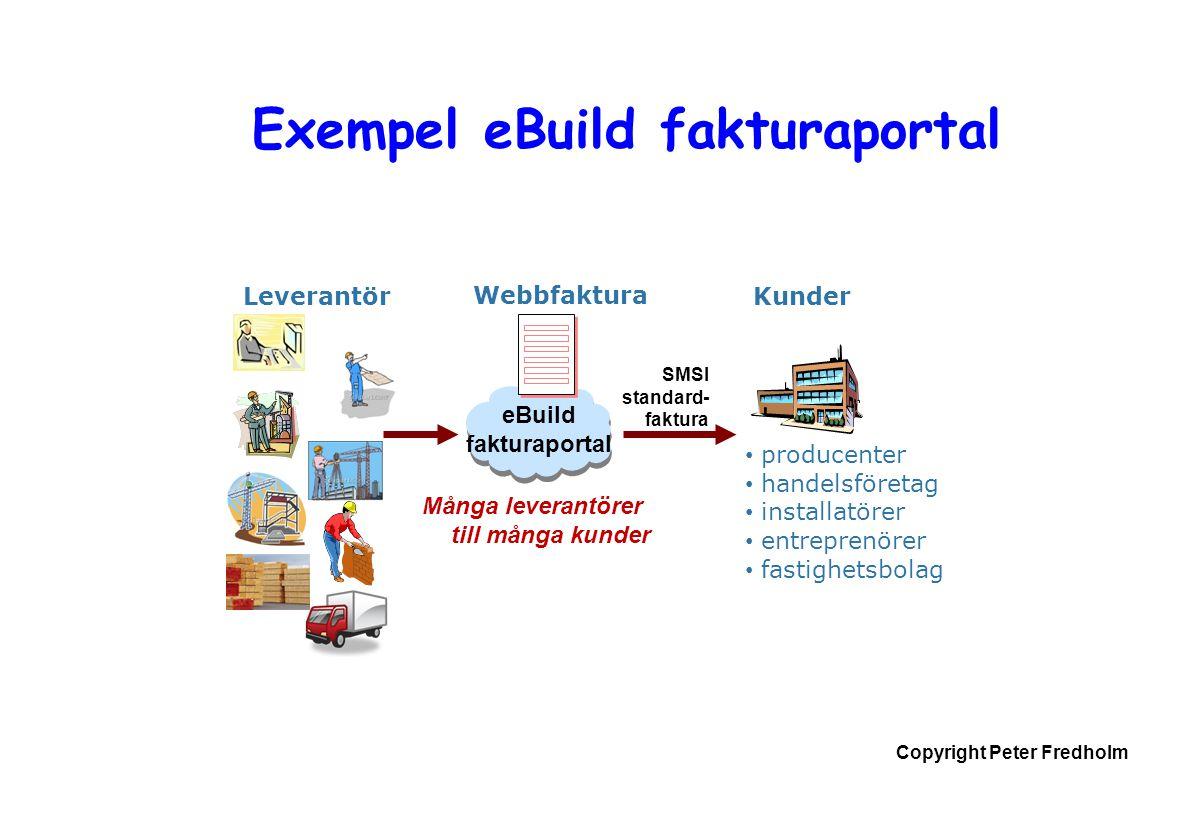 Exempel eBuild fakturaportal