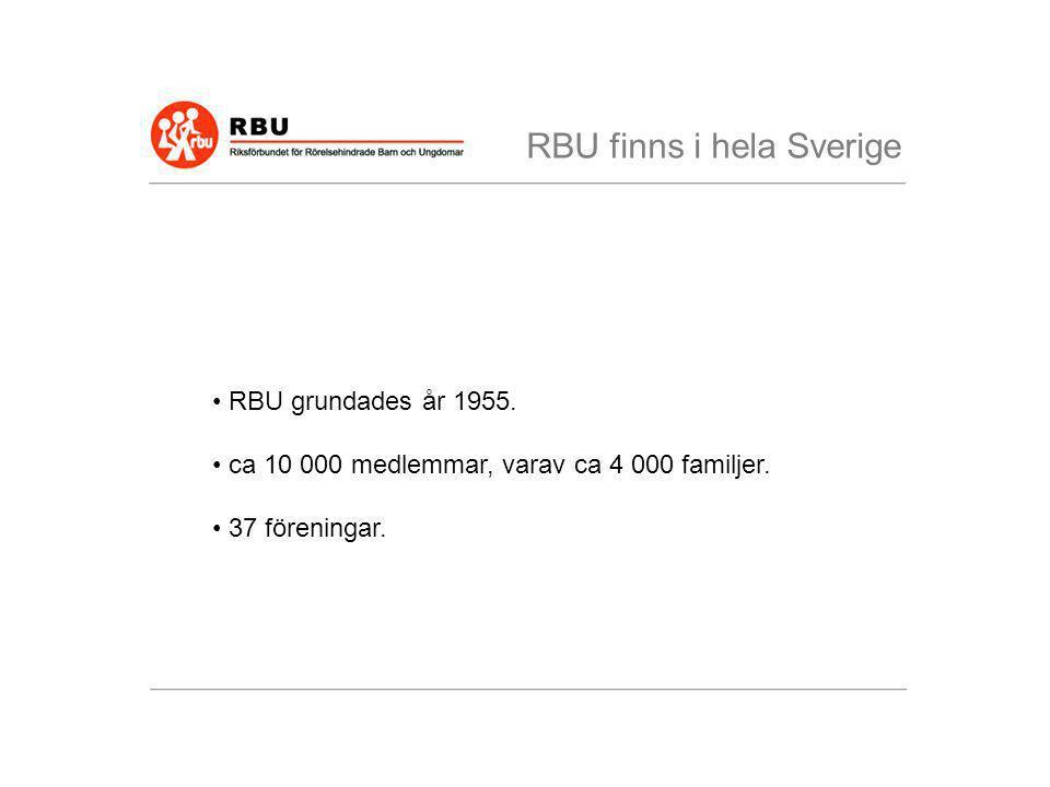 RBU finns i hela Sverige