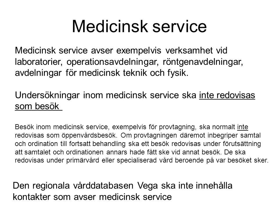 Medicinsk service