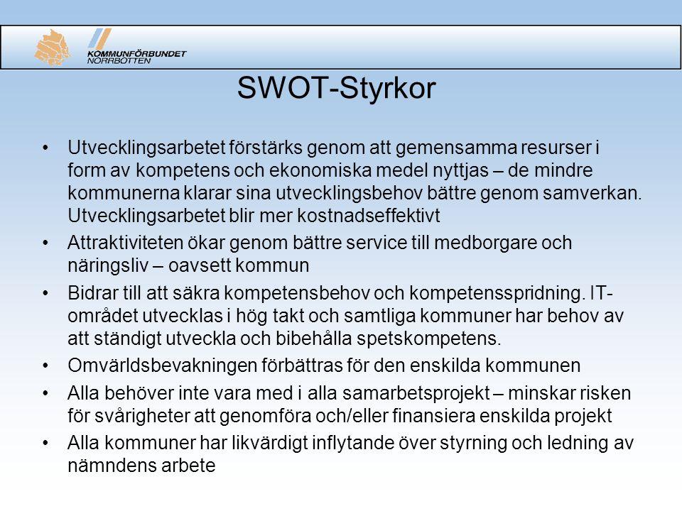 SWOT-Styrkor