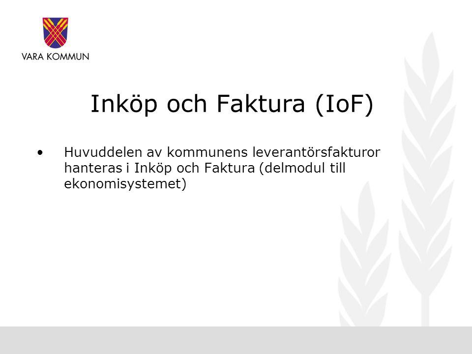 Inköp och Faktura (IoF)