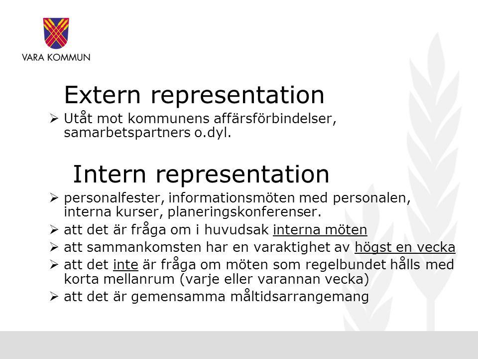 Intern representation
