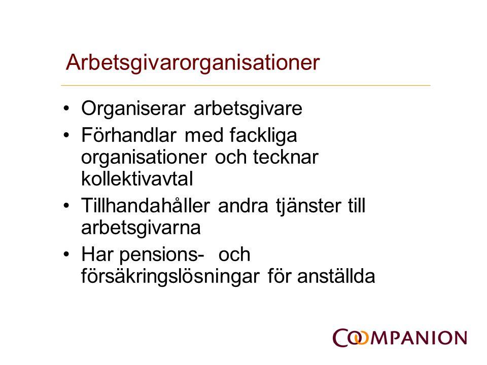Arbetsgivarorganisationer