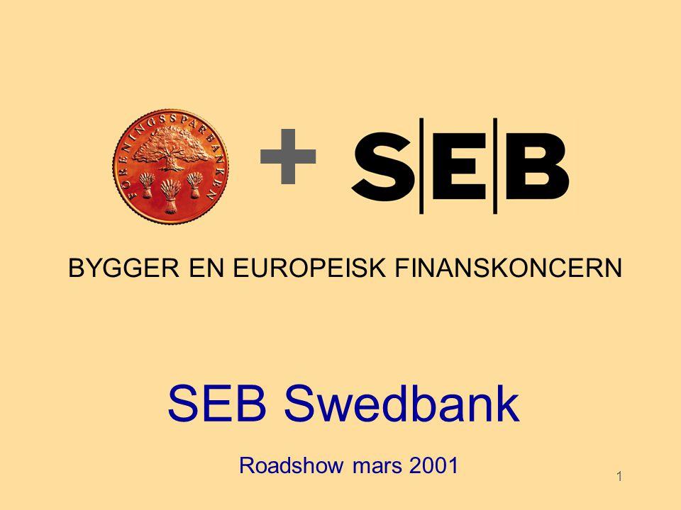 BYGGER EN EUROPEISK FINANSKONCERN
