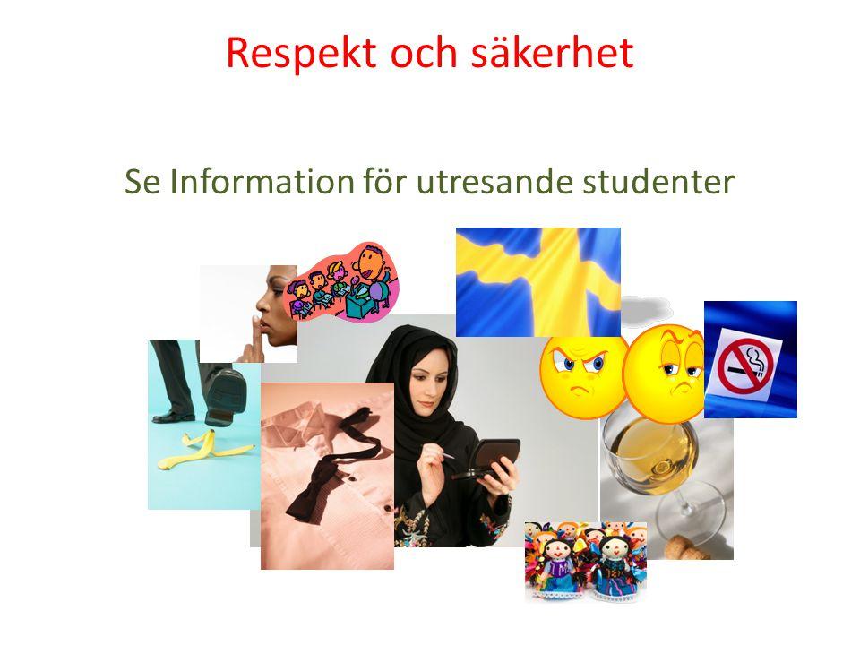 Se Information för utresande studenter