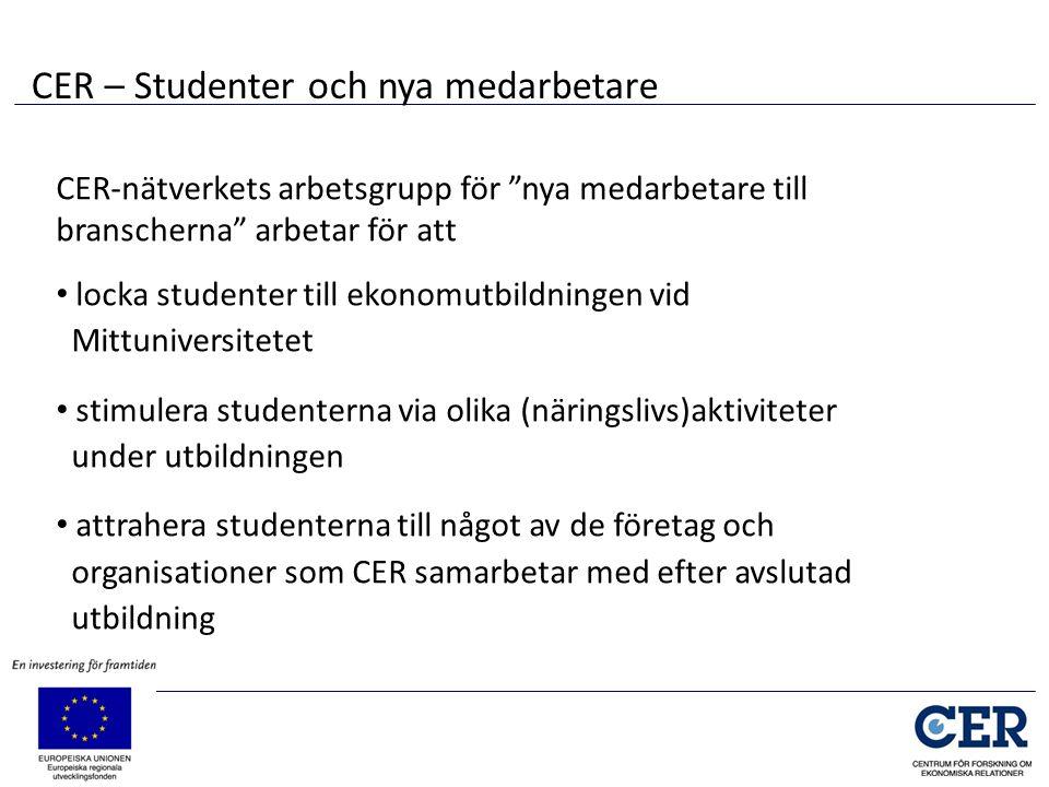 CER – Studenter och nya medarbetare