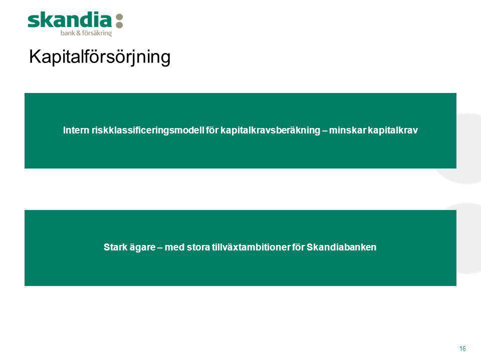 Stark ägare – med stora tillväxtambitioner för Skandiabanken