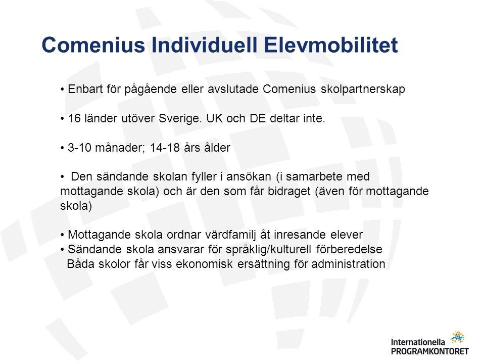 Comenius Individuell Elevmobilitet