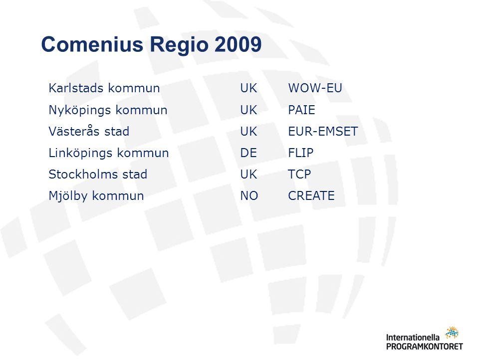 Comenius Regio 2009 Karlstads kommun UK WOW-EU
