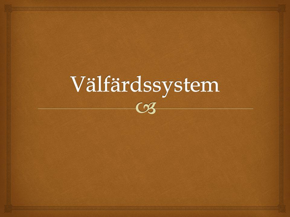 Välfärdssystem