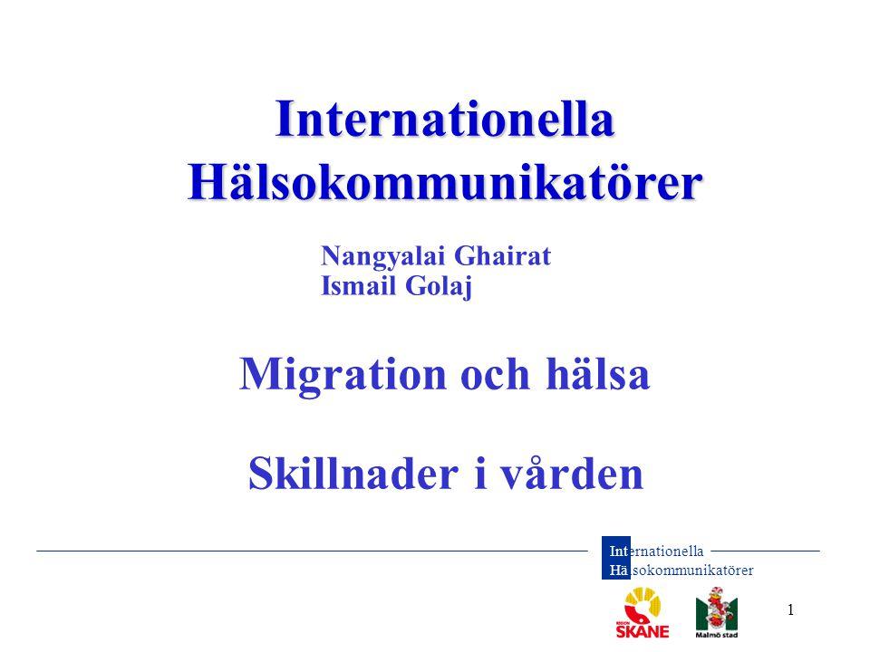 Internationella Hälsokommunikatörer