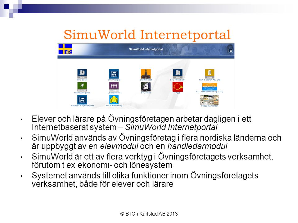 SimuWorld Internetportal