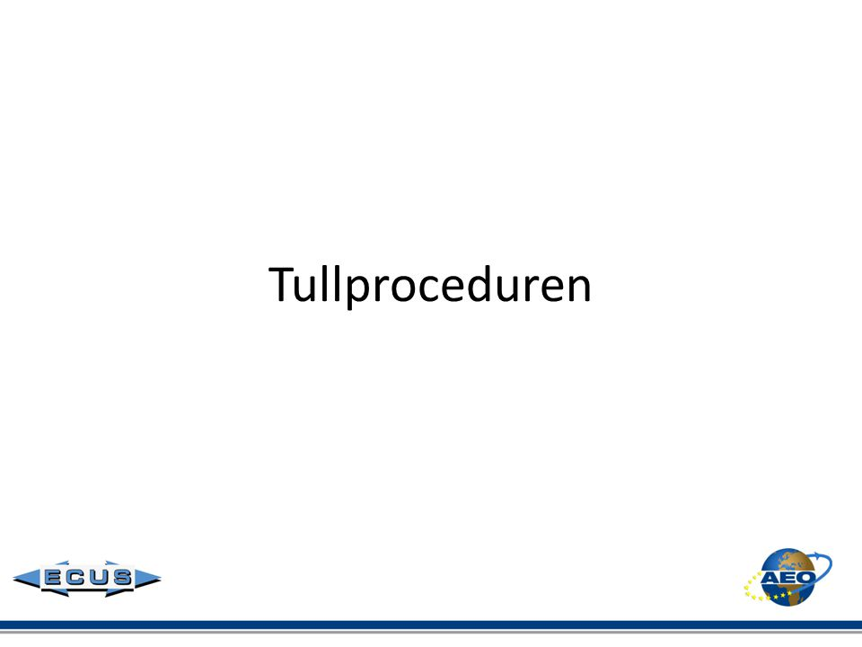 Tullproceduren