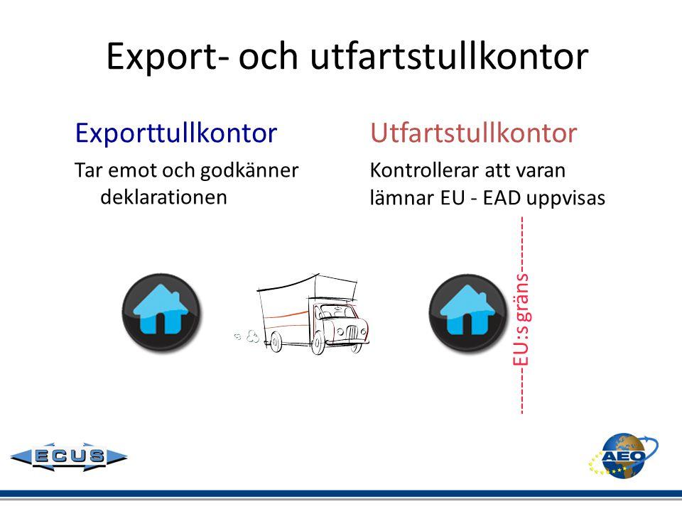 Export- och utfartstullkontor