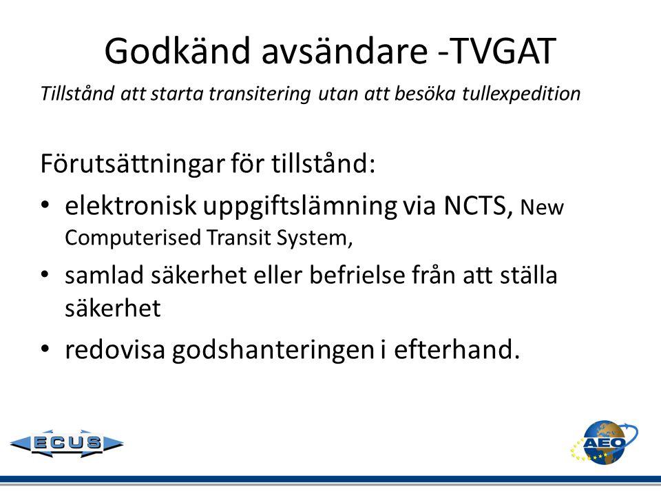 Godkänd avsändare -TVGAT