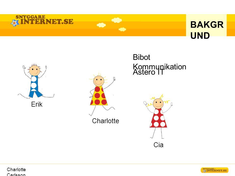 BAKGRUND Bibot Kommunikation Astero IT Erik Charlotte Cia