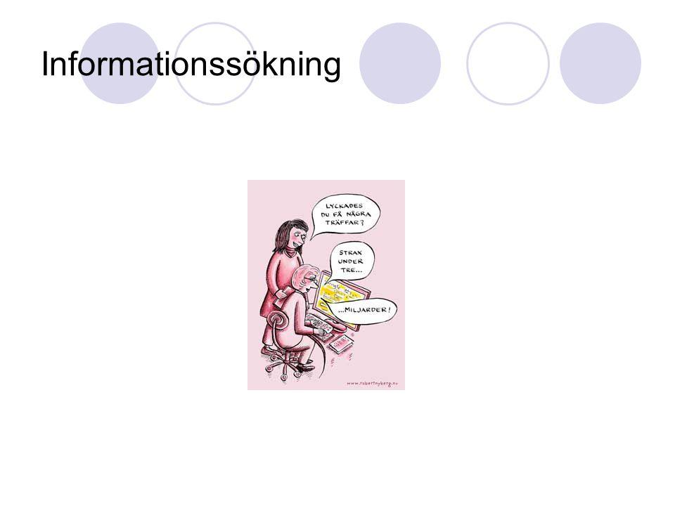 Informationssökning