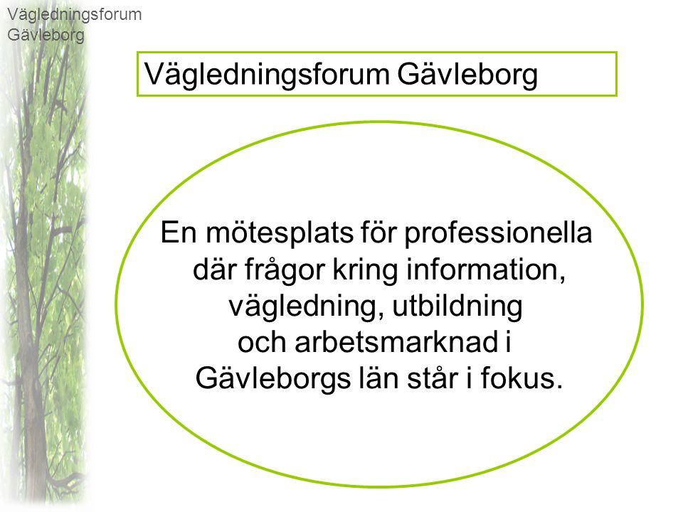 och arbetsmarknad i Gävleborgs län står i fokus.