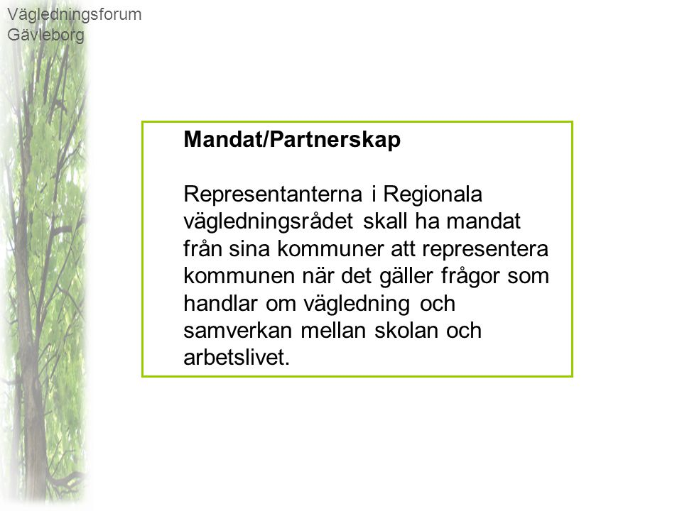 Vägledningsforum Gävleborg
