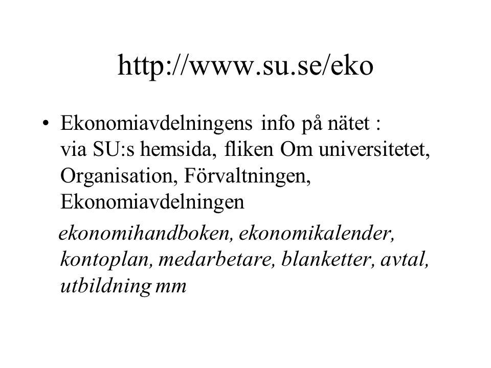 http://www.su.se/eko