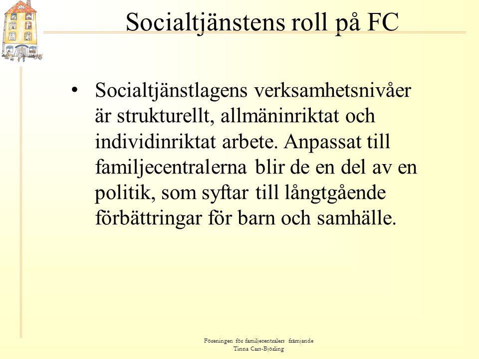 Socialtjänstens roll på FC
