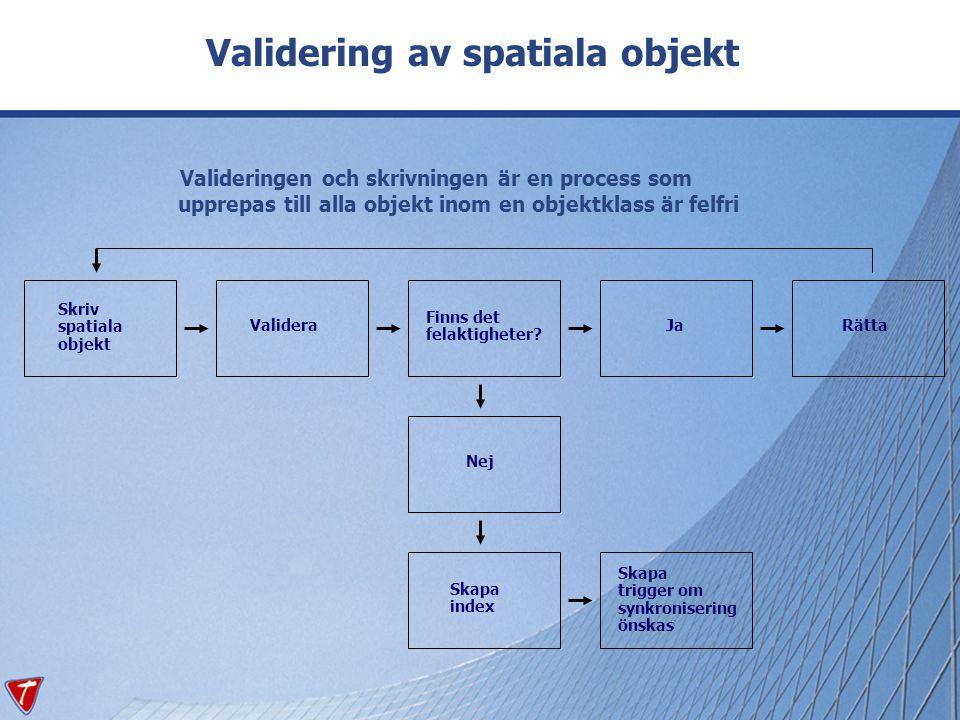 Validering av spatiala objekt
