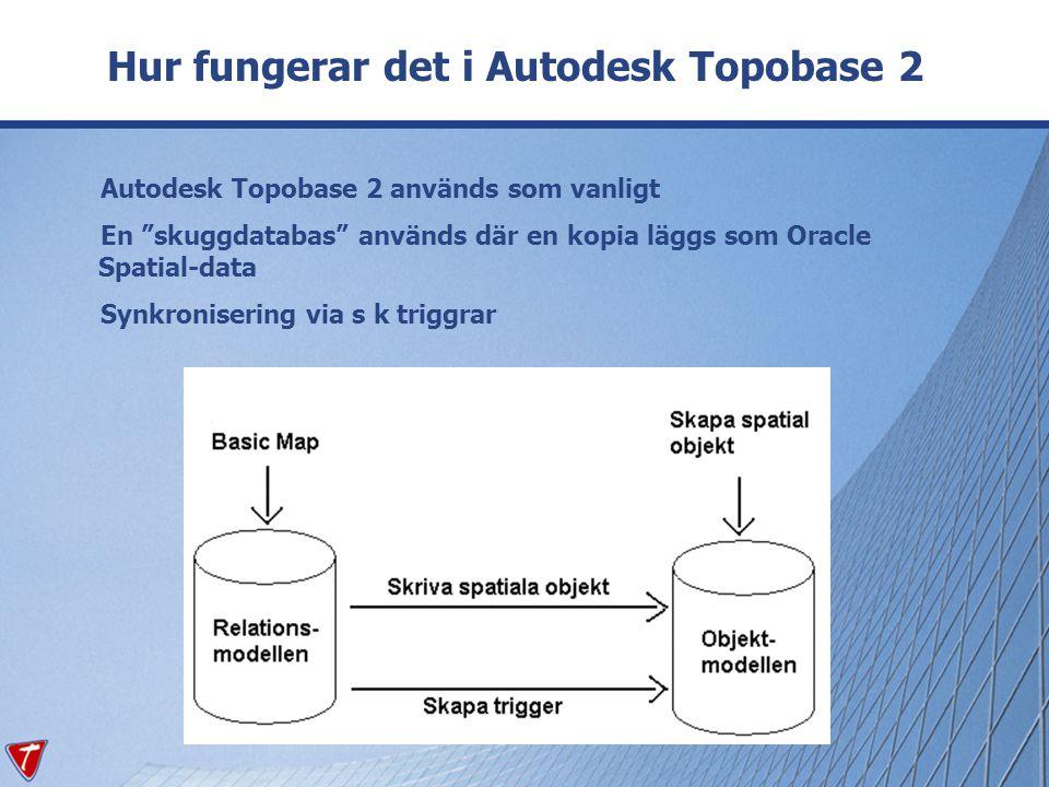Hur fungerar det i Autodesk Topobase 2