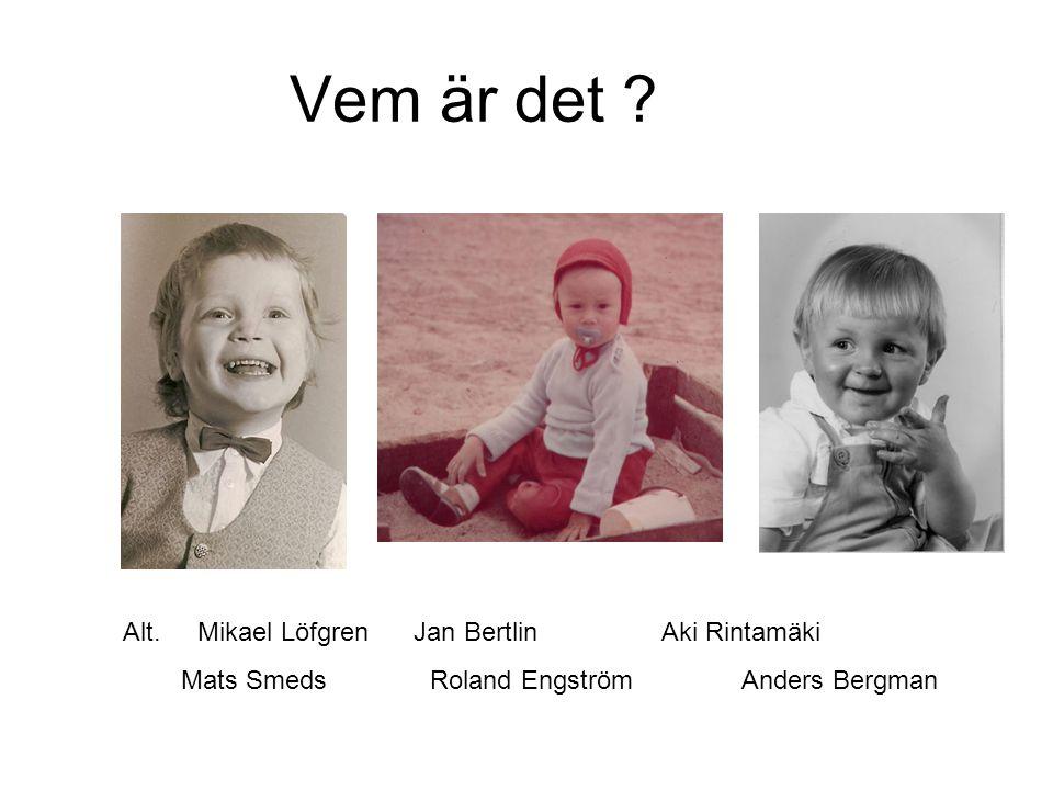 Vem är det Alt. Mikael Löfgren Jan Bertlin Aki Rintamäki