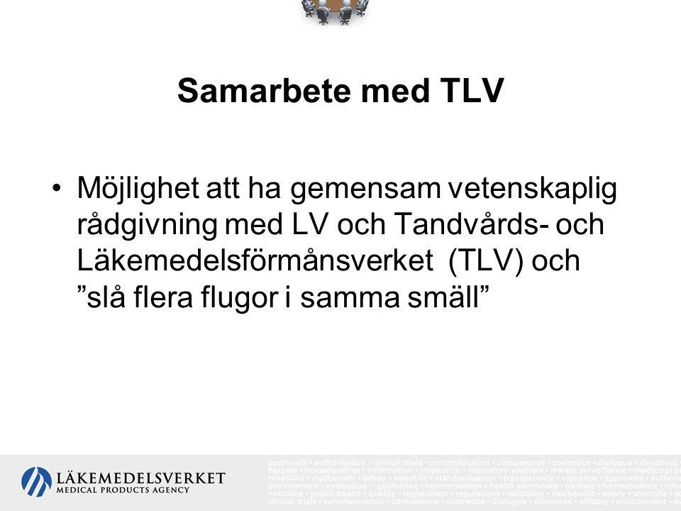 Samarbete med TLV