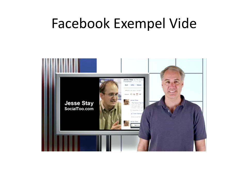 Facebook Exempel Vide