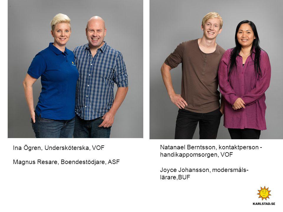 Natanael Berntsson, kontaktperson - handikappomsorgen, VOF
