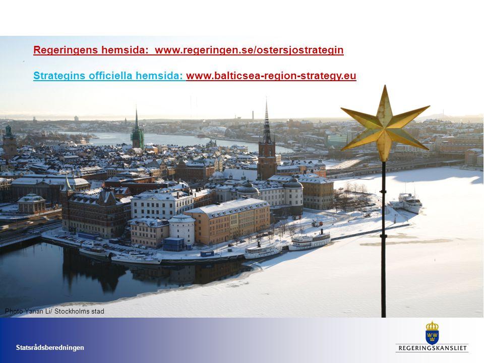 Regeringens hemsida: www.regeringen.se/ostersjostrategin