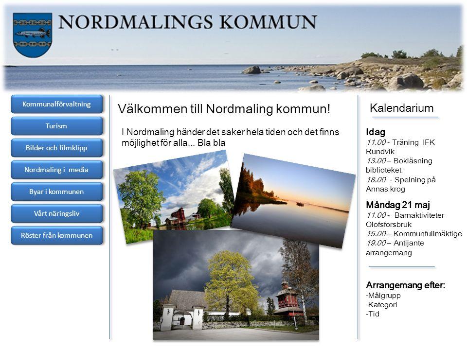 Välkommen till Nordmaling kommun!
