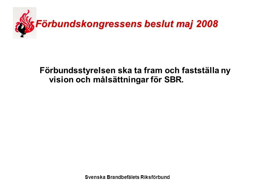Förbundskongressens beslut maj 2008