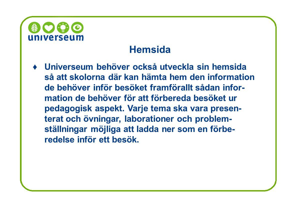 Hemsida ♦