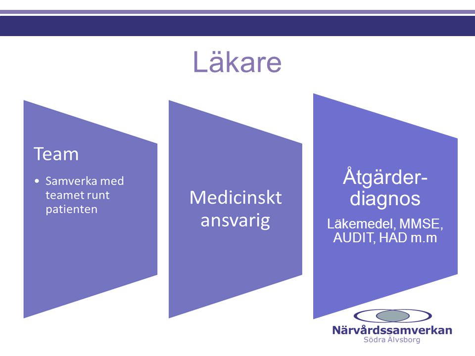 Läkemedel, MMSE, AUDIT, HAD m.m