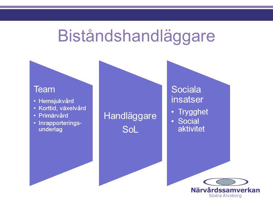 Biståndshandläggare Team Hemsjukvård Korttid, växelvård Primärvård