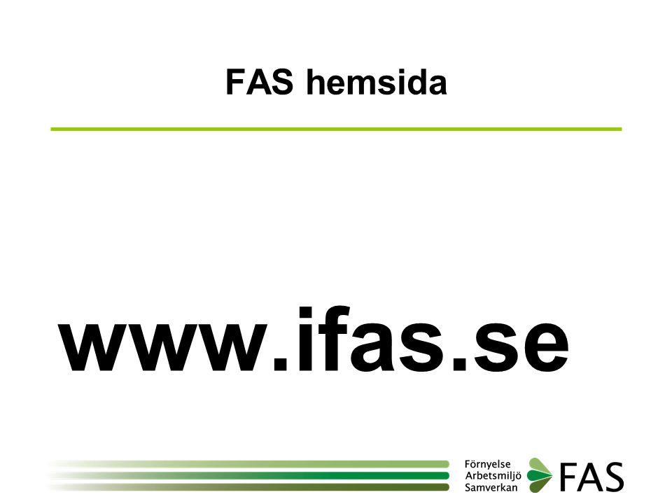 FAS hemsida www.ifas.se