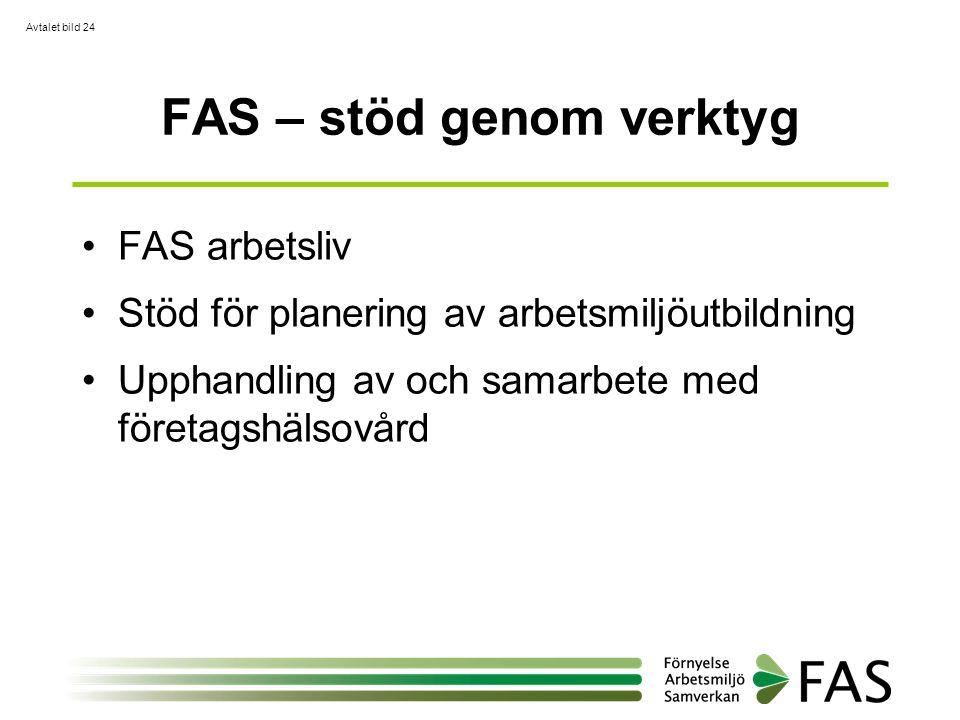 FAS – stöd genom verktyg