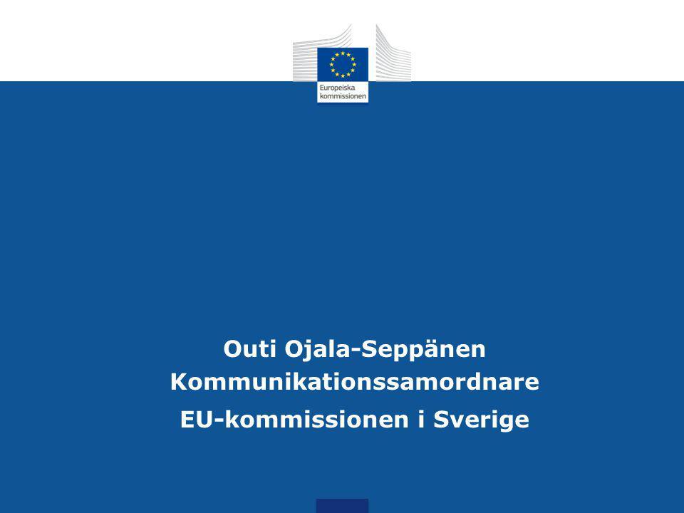 Kommunikationssamordnare EU-kommissionen i Sverige
