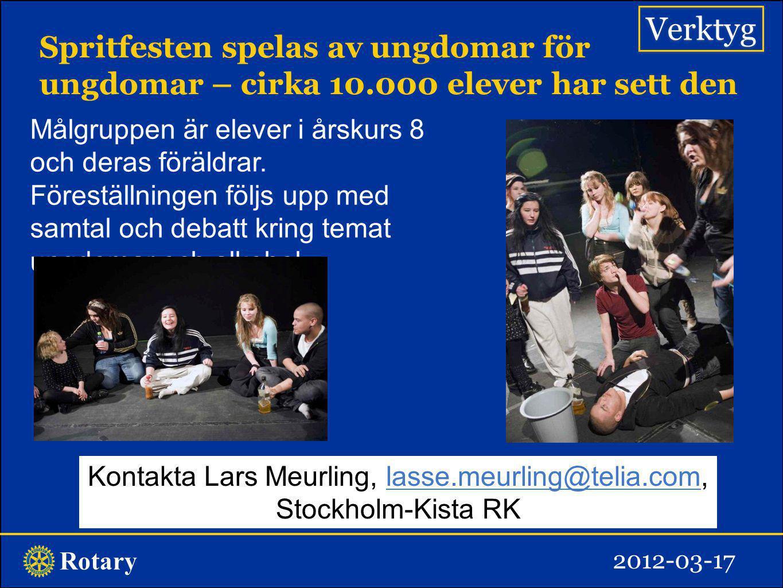 Kontakta Lars Meurling, lasse.meurling@telia.com,