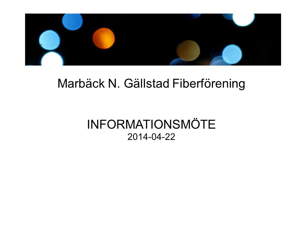 Marbäck N. Gällstad Fiberförening