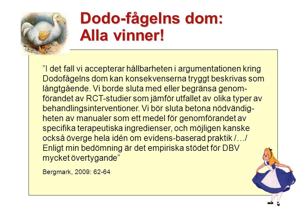 Dodo-fågelns dom: Alla vinner!